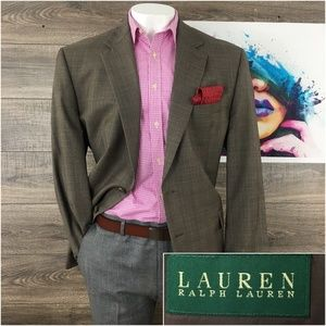 Mens Blazer Sport Coat Wool Jacket Ralph Lauren